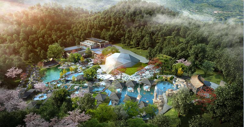 广州御水温泉规划