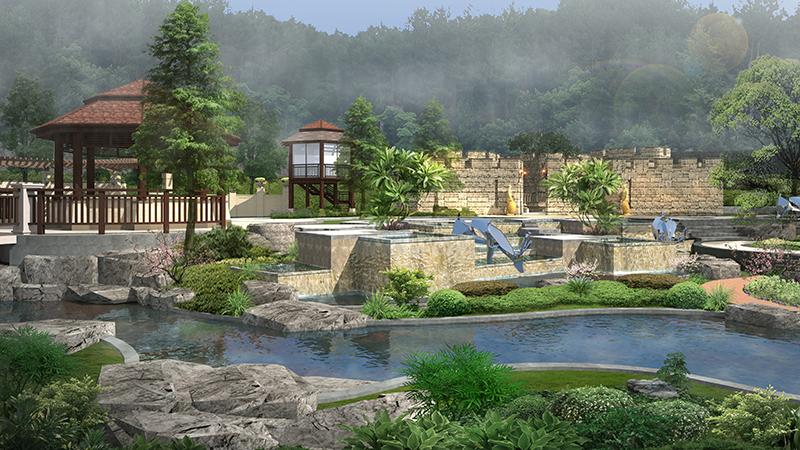 温泉酒店设计