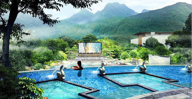 广州御水温泉水疗设备