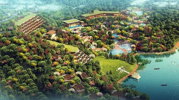 崇义阳明国际温泉度假区开发工程案例