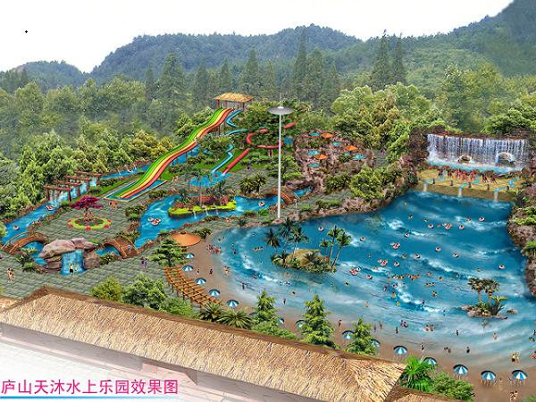 建造施工 水上乐园